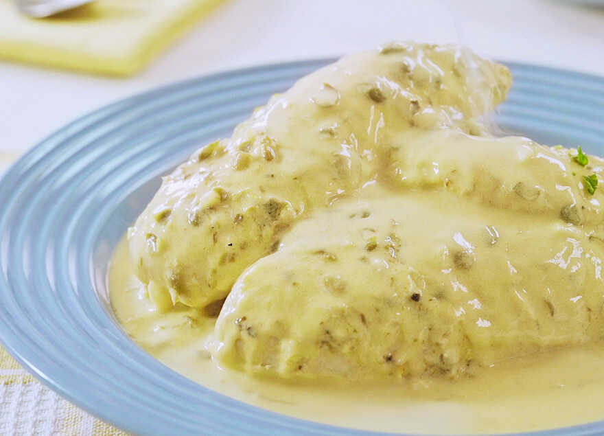 Chicken Calamansi And Butter Picatta